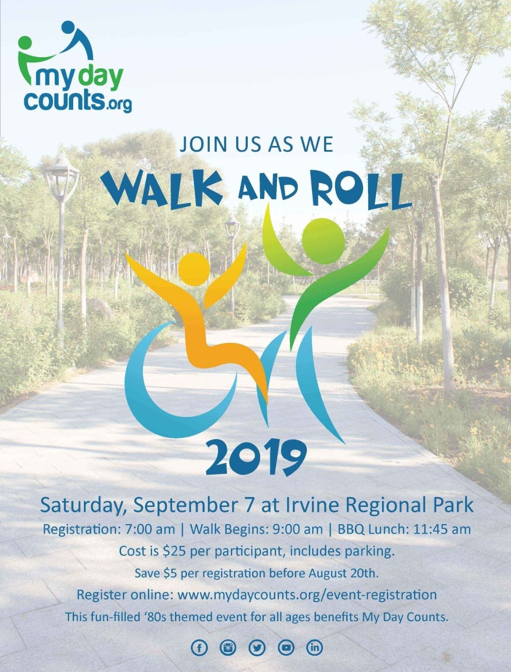 2019 Walk And Roll Flyer - Ohana Creative
