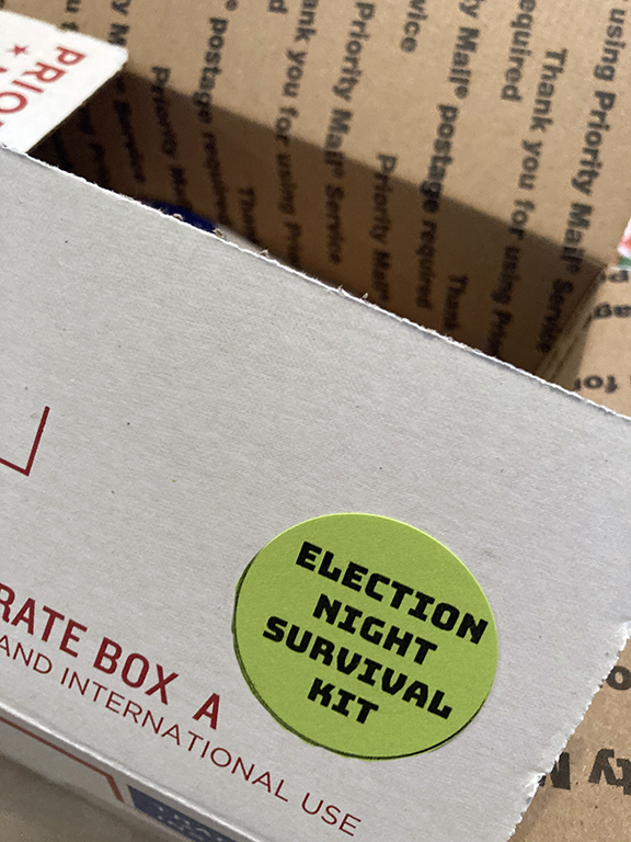 2020 Election Night Survival Kit for Dems (box)