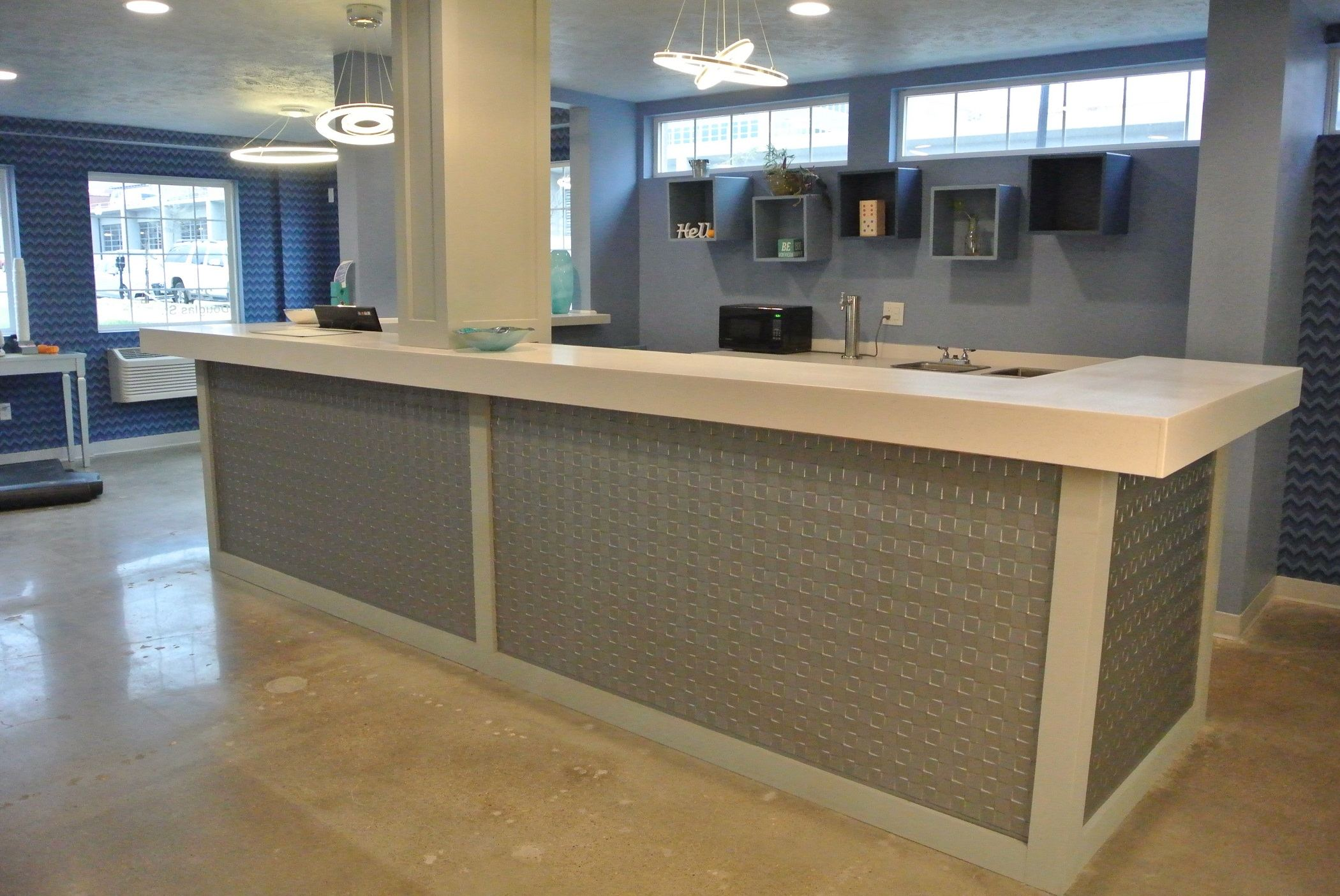 402 Hotel Lobby Front Desk