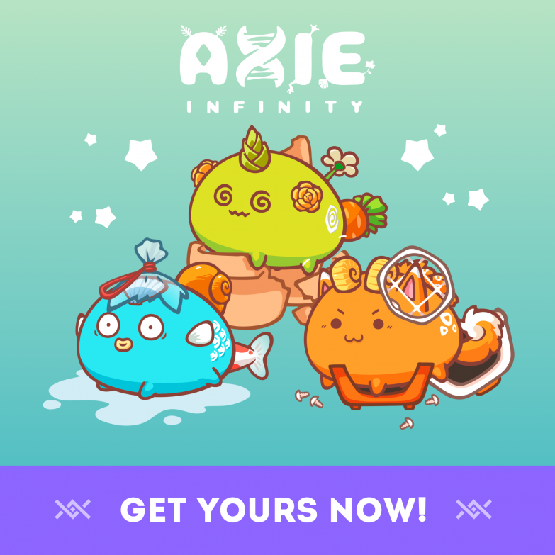 Adopt Axies Now