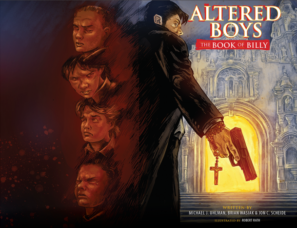 Altered Boys - Book of Billy Cover & Back Cover