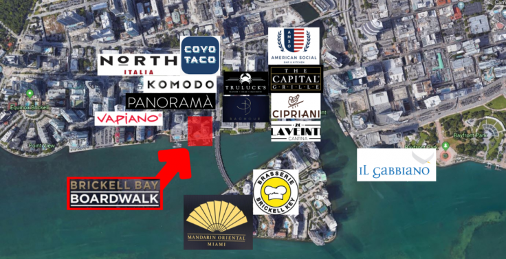 Brickell-Bay Boardwalk for Lease