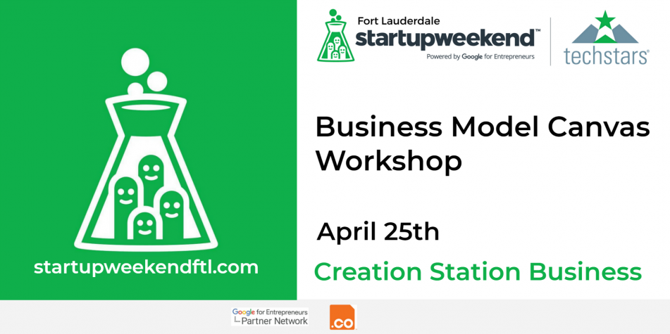 Business Model Canvas Workshop PR Banner
