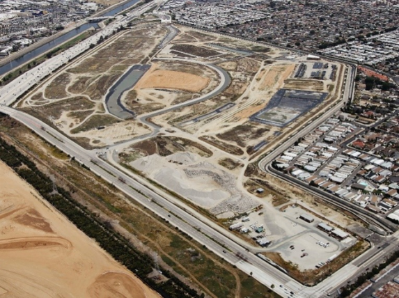 Cal Compact Landfill site in Carson, California