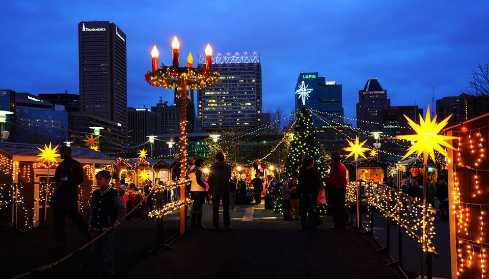 Christmas Village in Baltimore 2017