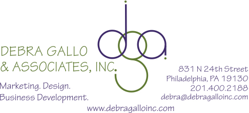 DGA logo with address