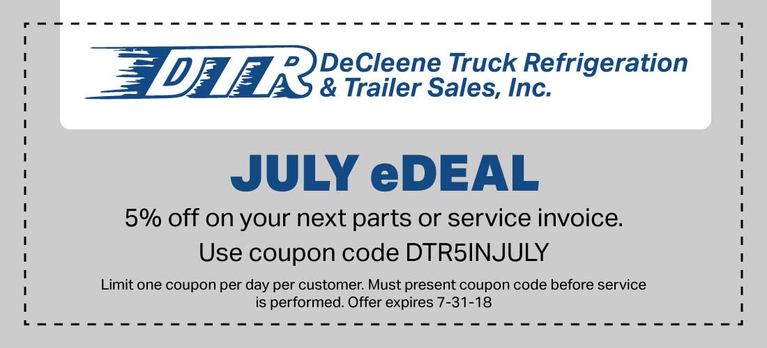 DTR coupon July 2018
