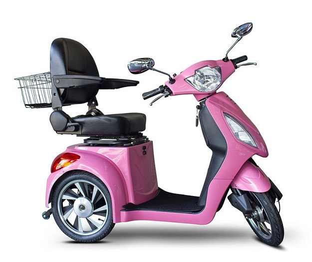 EW-85 Bubble Gum Pink Fast Mobility Scooter