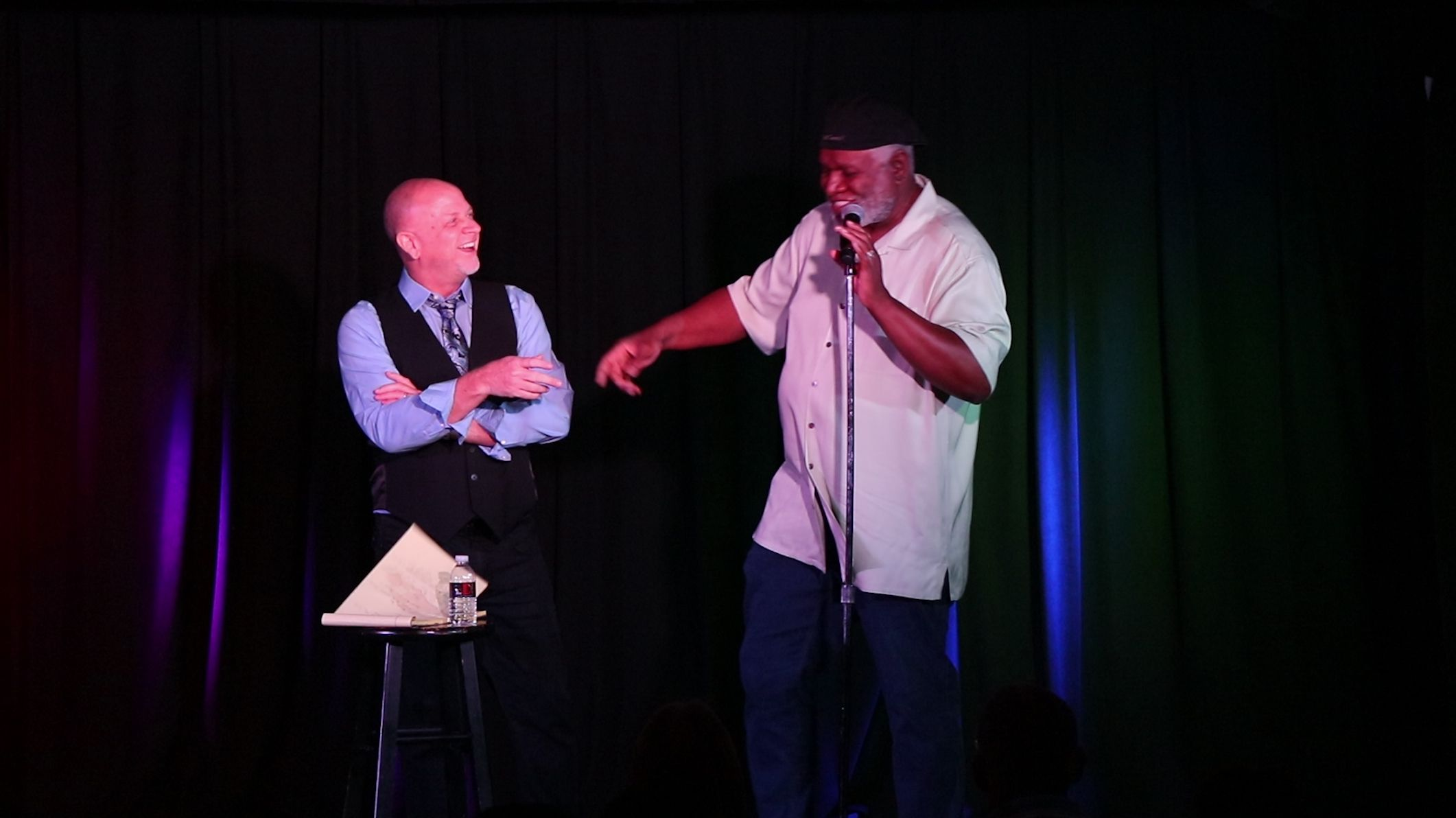 George Wallace Surprises Don Barnhart At Jokesters