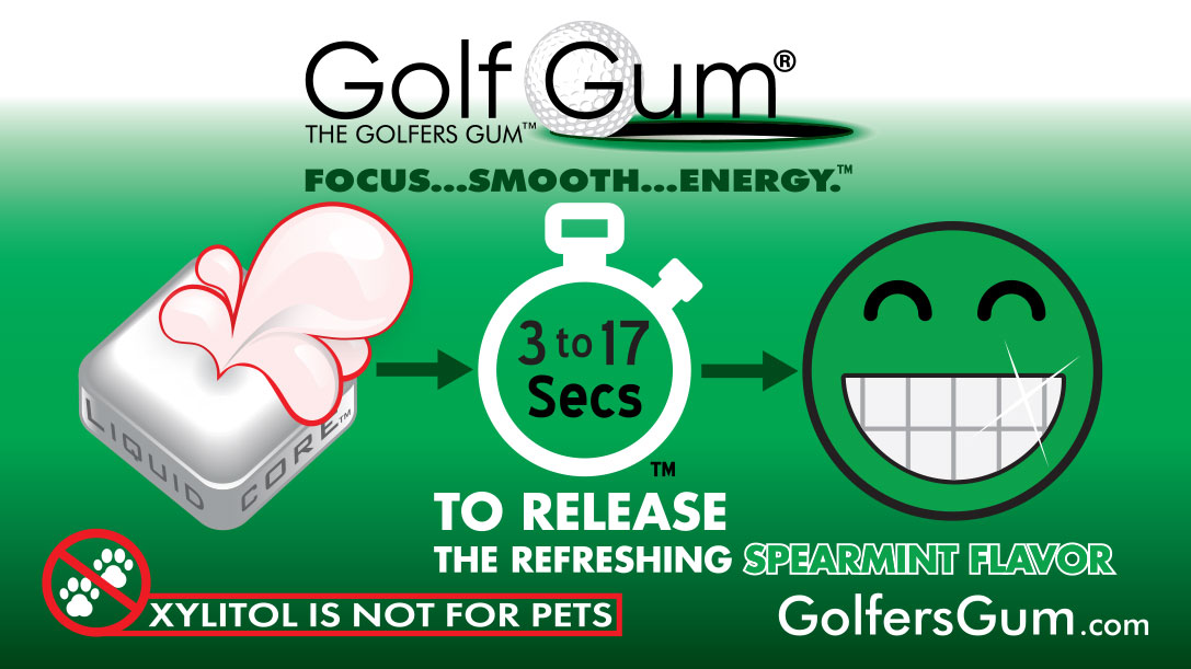 Golf Gum 17 Seconds Icons