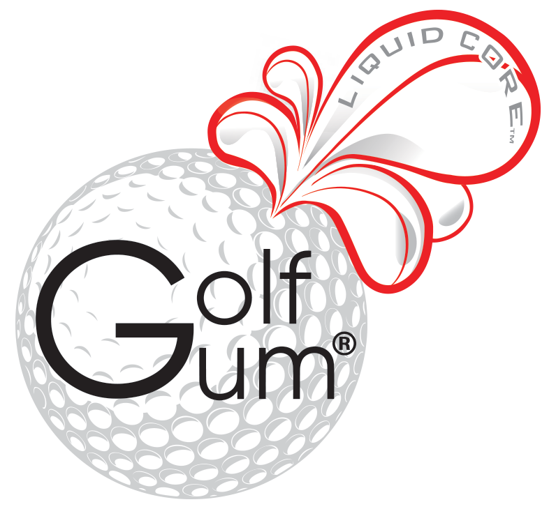 Golf Gum Liquid Core Logo