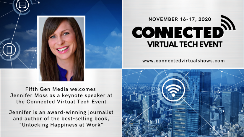 Jennifer Moss to Keynote to Connected Virtual show