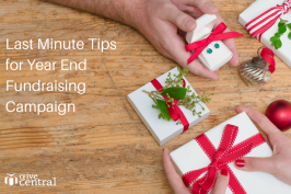 Last Minute Tips for Running a Year End Fundraisin