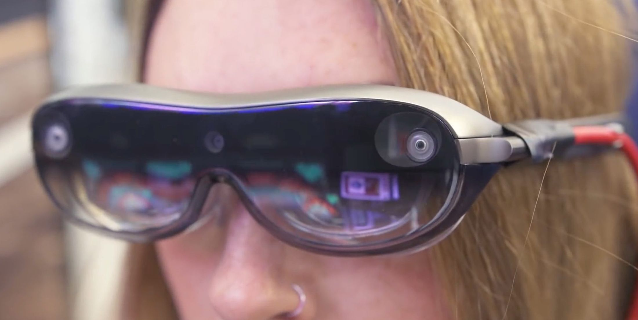 Lenovo Concept Smartglasses. Photo courtesy Lenovo