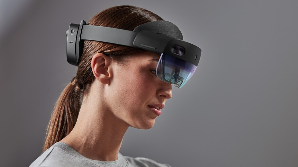 Microsoft's Hololens 2. Photo courtesy Microsoft.