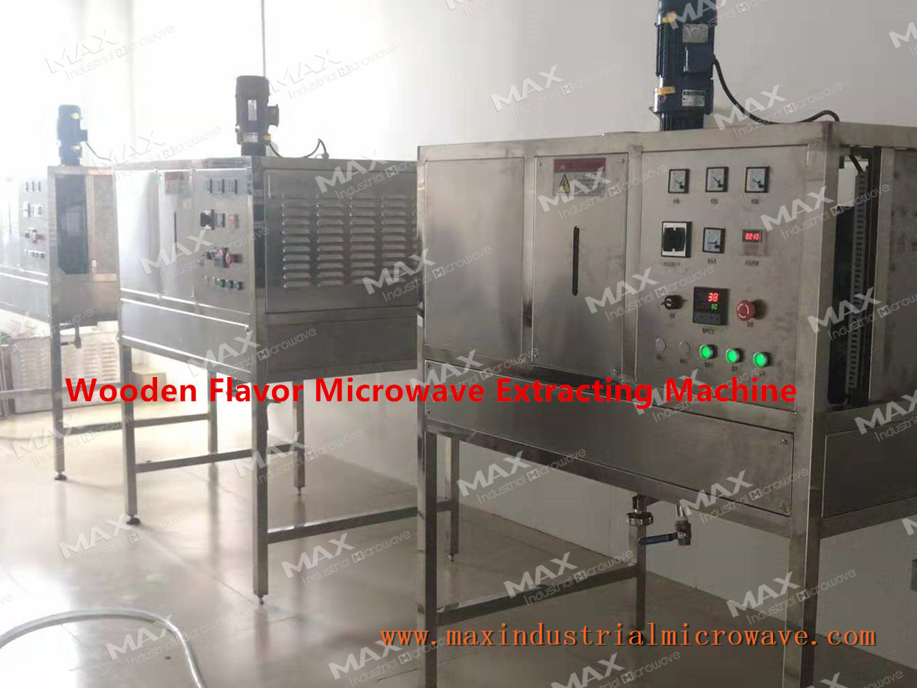 Microwave Extraction Machine