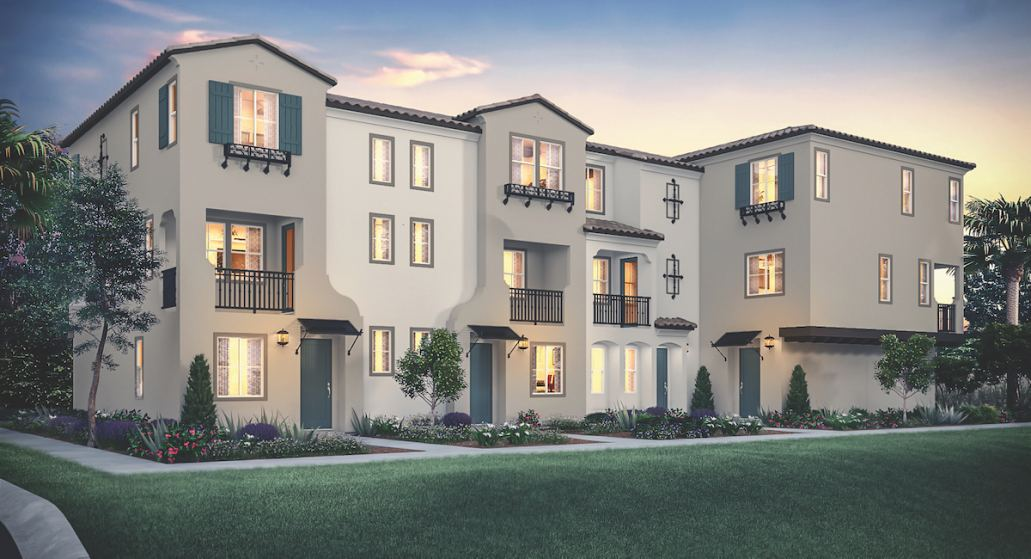 New attainably priced townhomes now open in Yorba Linda boasting modern designs