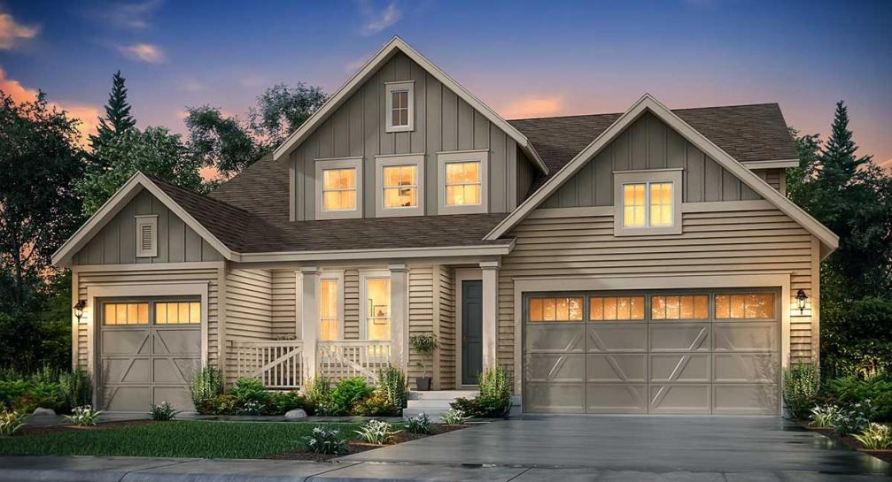 New homes for sale in Erie surrounded by natural beauty and near Denver