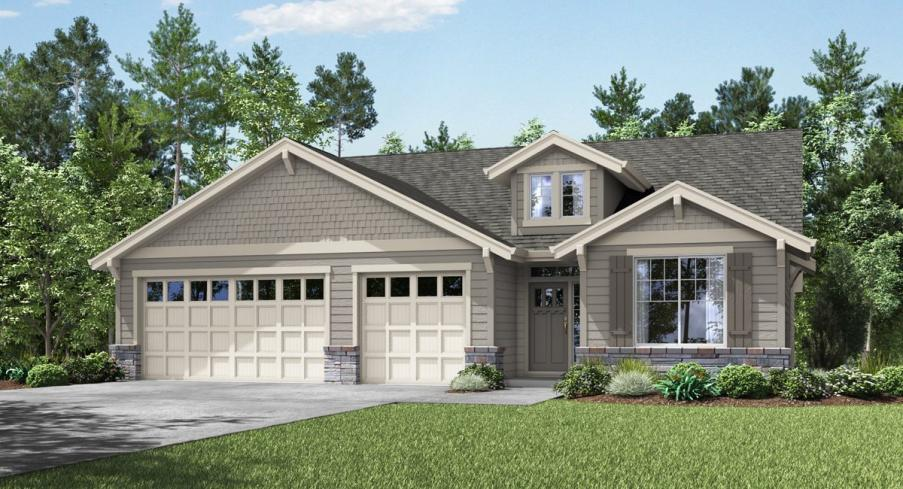 New homes in Milwaukie opening on August 3 showcasing single level designs