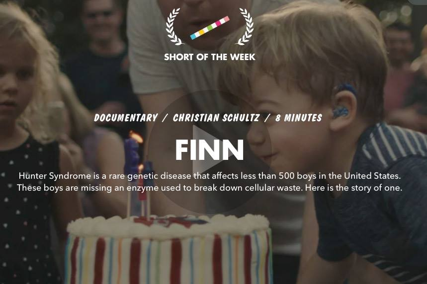 One of the Project Alive films, Finn, has already received several awards