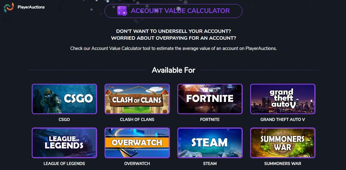 Overwatch Account Value Calculator_Playerauctions