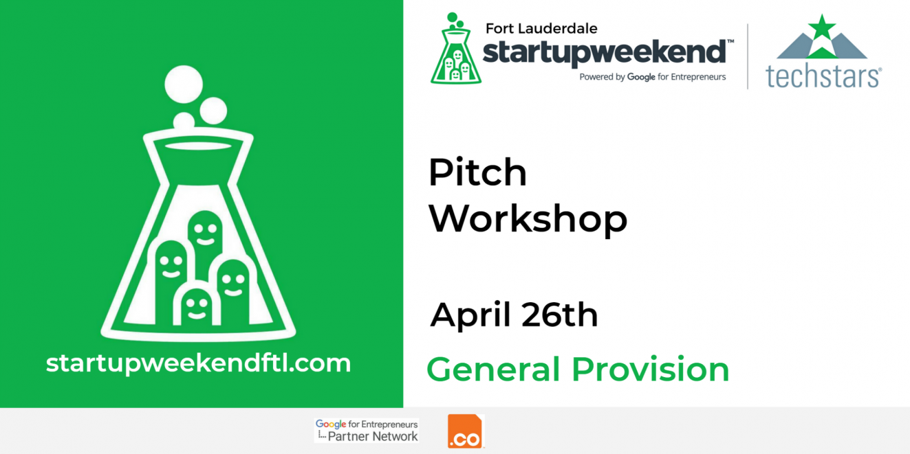 Pitch Workshop PR Banner
