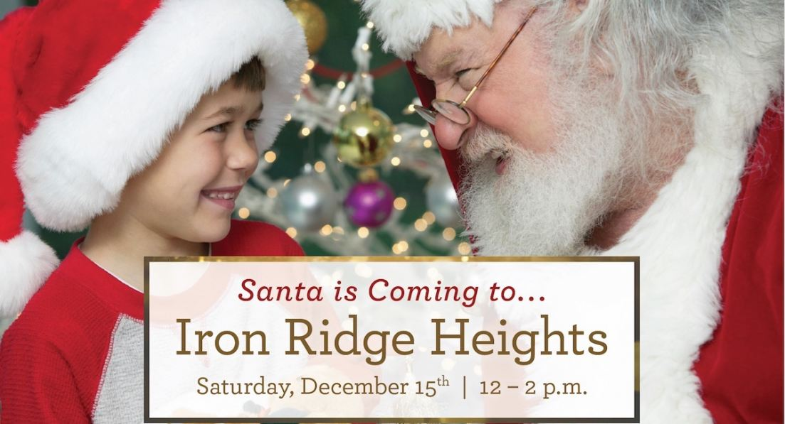 Santa Meet & Greet at Iron Ridge Heights, an exclusive community in Portland