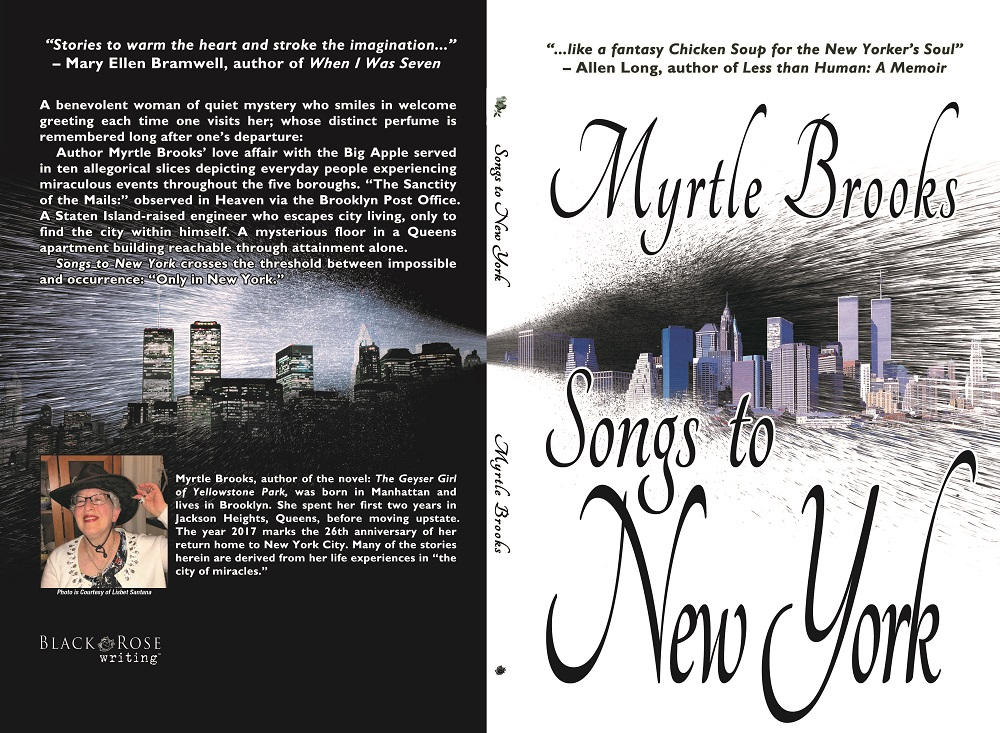 Songs to New York Bookcover