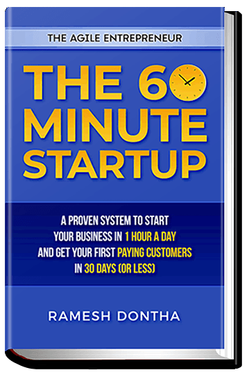 The 60 Minute Startup by Ramesh Dontha
