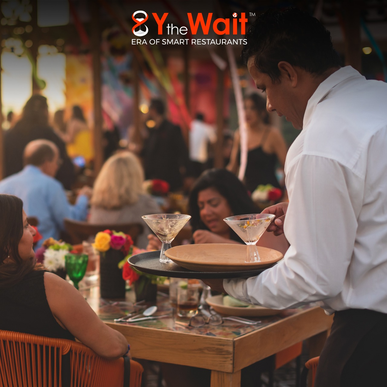 Y the Wait - Digital Waiter App - Waiter Serving