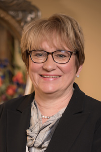 Thiel College President Dr. Susan Traverso, Ph.D.