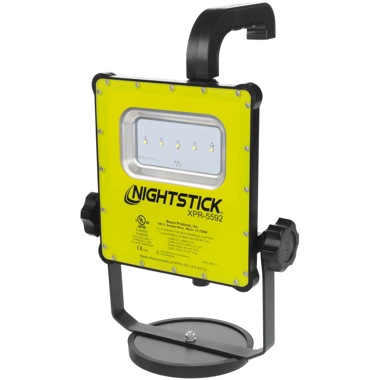 XPR-5592GX Intrinsically Safe 1000-Lumen Scene Light